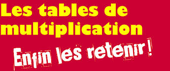 Coin parents rpi challuy sermoise - Apprendre les tables de multiplication facilement ...